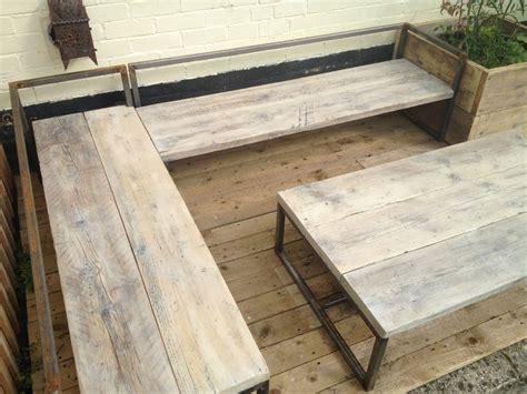 sun loungersbench   table