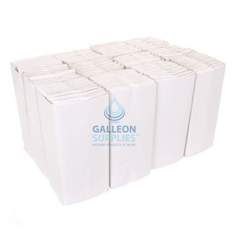White C Fold Paper Towels - galleon 2 ply white c fold flushable paper