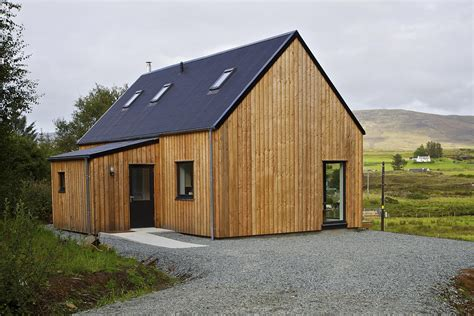 cottage prefabbricati r house a prefab home for rural scotland rural design