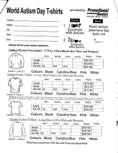 35 Awesome T Shirt Order Form Template Free Images Projects To Try Pinterest Order Form T Shirt Price List Template
