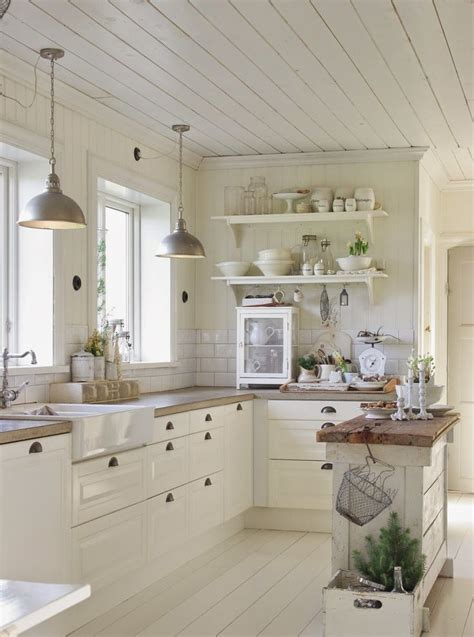 cottage kitchen decorating ideas 31 cozy and chic farmhouse kitchen d 233 cor ideas digsdigs