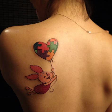 piglet tattoo who did your ink jillian sees herself in winnie the