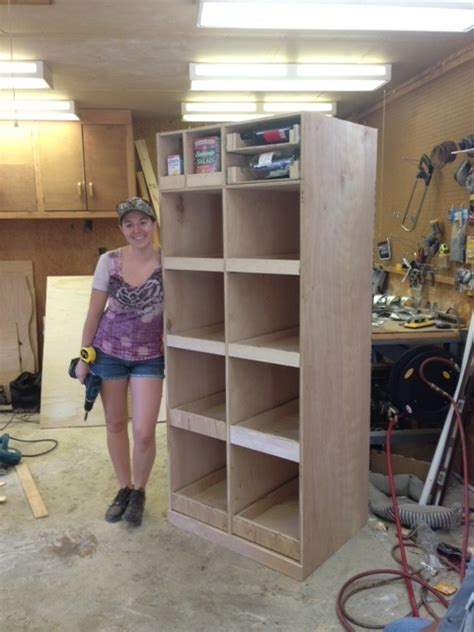 wilker dos diy freestanding pantry  pullout drawers