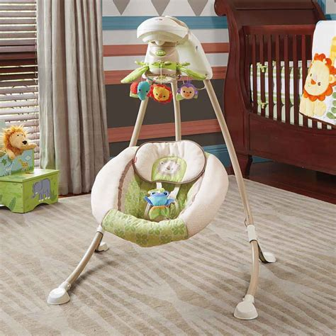 fisher price cradle n swing rainforest com fisher price deluxe cradle n swing
