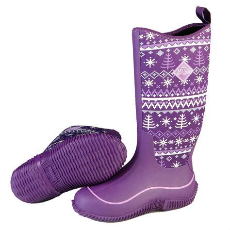 womans rubber boots s muck hale waterproof rubber boots 658168 rubber