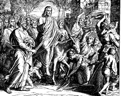 coloring page jesus triumphal entry free coloring pages of hosanna