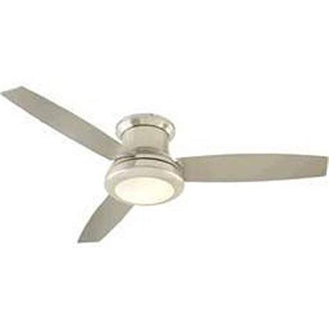 harbor brushed nickel ceiling fan harbor sail 52 inch brushed nickel ceiling fan