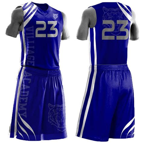 jersey design basketball blue blue custom high school basketball jersey uniform buy