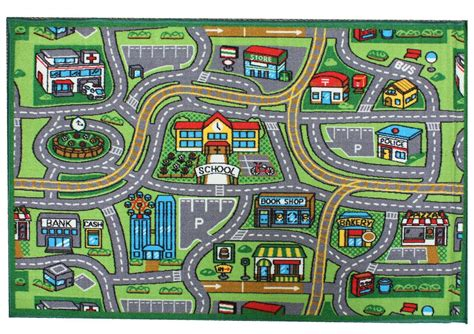 printable play road map matchbox play mat children s road rug play mat toy car