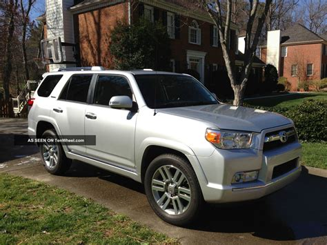2012 Toyota 4runner Limited 2012 Toyota 4runner Limited Sport Utility 4 Door 4 0l