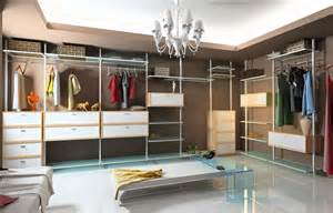dressing room walk in closet with modular wardrobe designs
