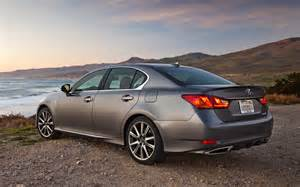 2013 lexus gs 350 f sport rear three quarters photo 18