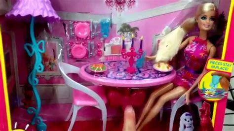 Glam Dining Room And Doll Playset Quot Glam Dining Room Quot Dreamhouse Accessory Set