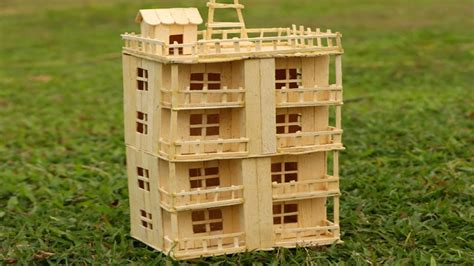 how to make a home popsicle sticks house www pixshark com images