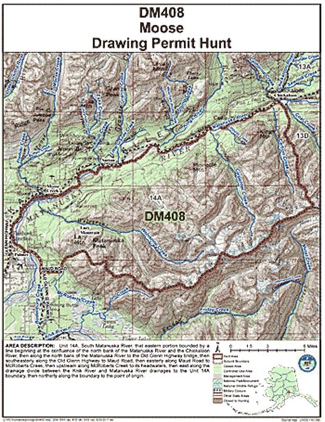 Section 408 Permit by Regulatory Year 2017 Dm408 Permit Hunt Information Alaska