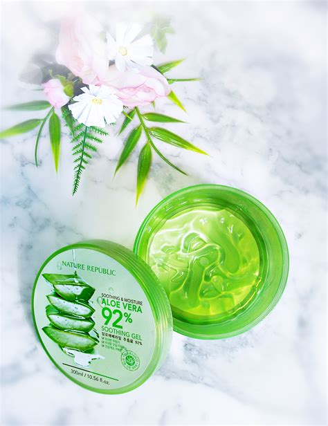 Nature Republic Soothing Gel How To Use nature republic aloe vera soothing gel