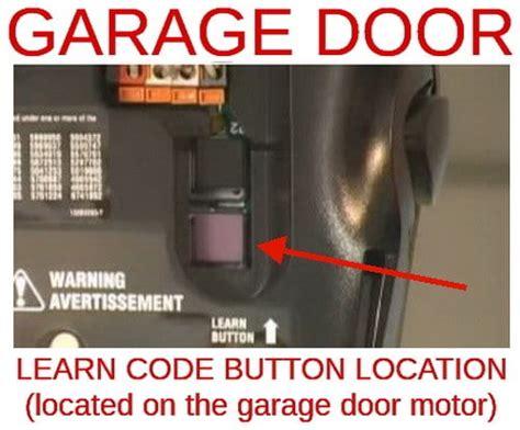 how to change reset the code for your garage door opener