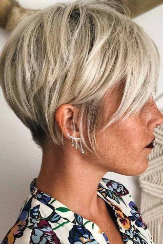 short haircut with ear showing 1909 best short hair bobs images on pinterest