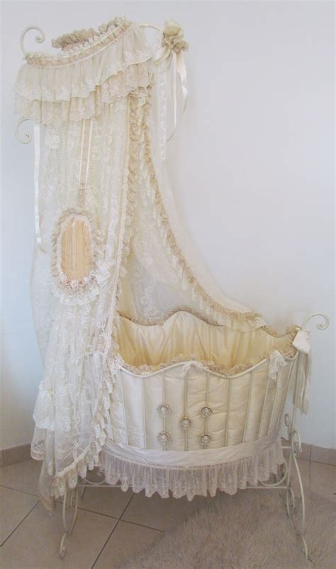 baby bassinet bedding angela lace victorian style baby bed