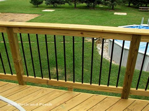 Patio Railing Deck Railing Gallery Hnh Deck And Porch Llc 443 324 5217