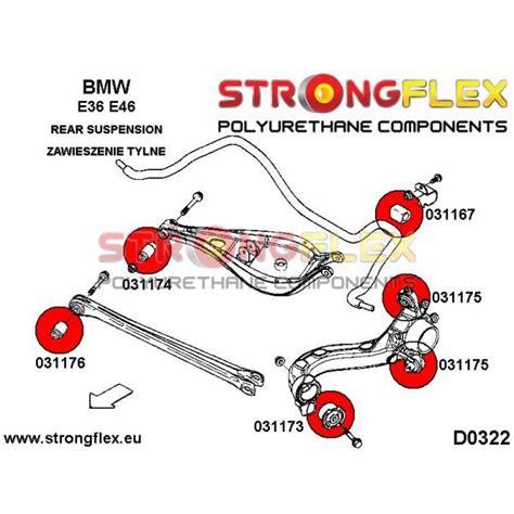 Strutbar Bmw E60 Rear Anti Roll 18mm 1 031167b rear anti roll bar bush 12 25mm polyurethane strongflex eu