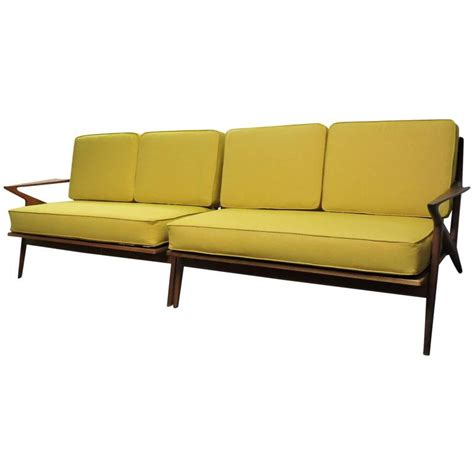 selig couch sectional z sofa by poul jensen for selig for sale at 1stdibs