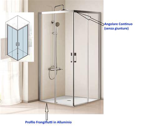 profili per box doccia box doccia angolare cristallo 6 mm cod p107 vendita