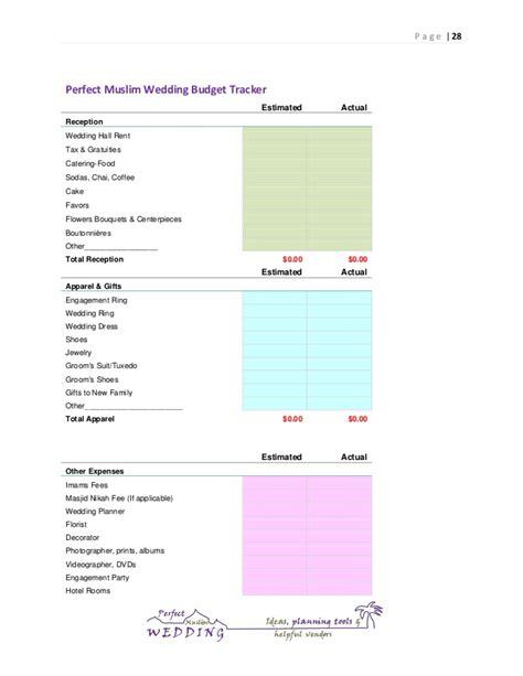 Wedding Planning Guide by Muslim Wedding Planning Guide