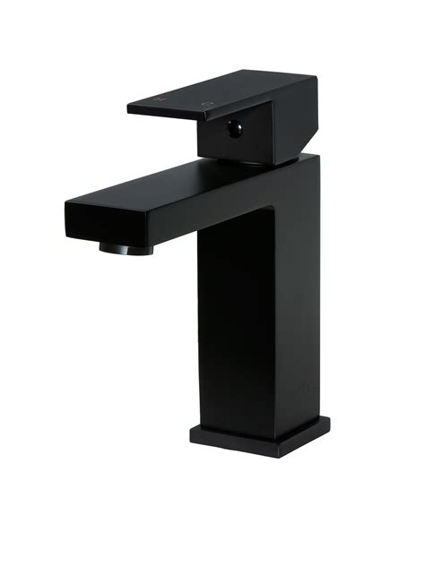 Black Bathroom Taps by Square Matte Black Bathroom Mixer Tap Meir