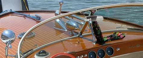 vintage boat windshields wood antique classic boat show