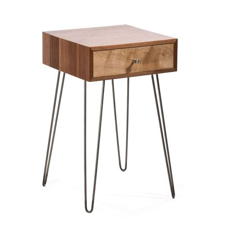 hairpin legs table walnut hairpin leg table