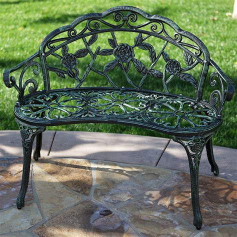 new cast iron green antique rose style outdoor patio