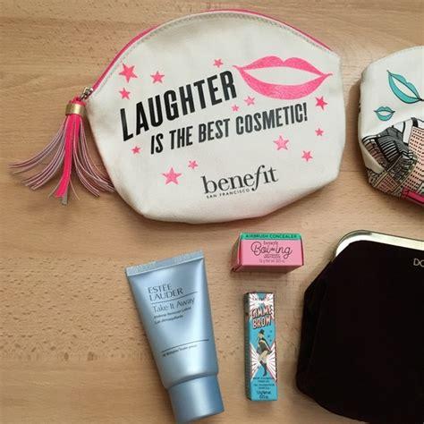 Benefit Work It Makeup Bag Cosmetics Bag benefit benefit makeup bag bundle bags brow