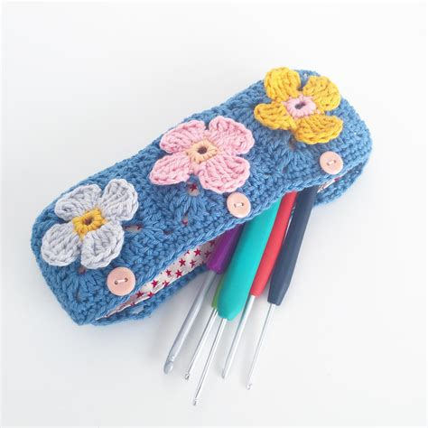 pattern for fabric pencil case back to school 10 crocheted pencil case patterns everyone