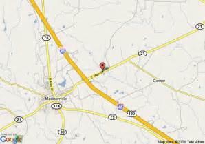 map of carefree inn madisonville madisonville