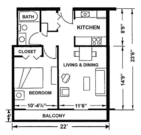 one bedroom apartment size one bedroom apartment size latest bestapartment 2018