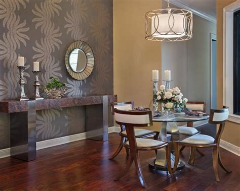 wallpaper dining room ideas dining room design and decorating with modern wallpaper