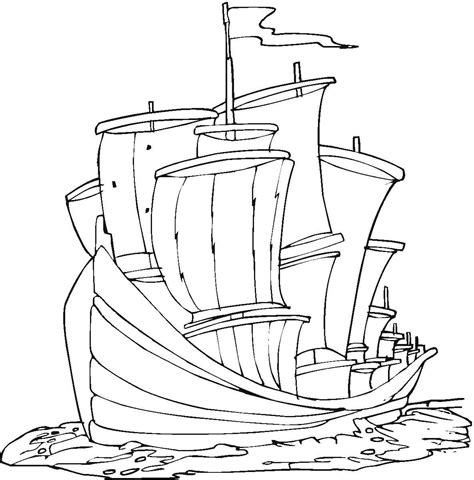 free printable coloring pages of the nina pinta santa maria nina pinta santa maria coloring pages coloring home