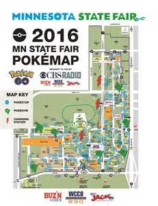 Map Of Mn State Fair by Mn State Fair Pok 233 Mon Go Map 171 Buz N 102 9