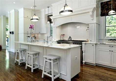 white kitchen with white granite 35 beautiful white kitchen designs with pictures