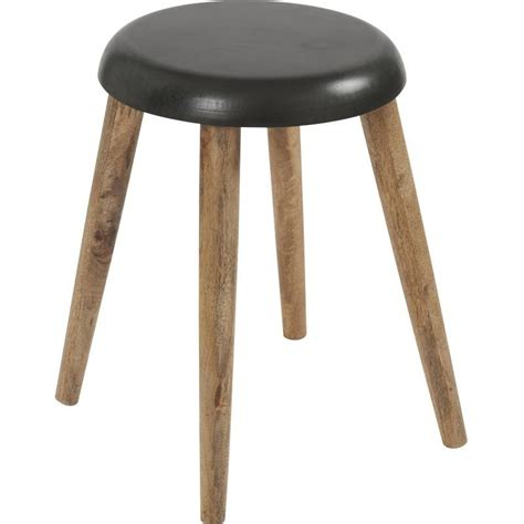 Tabouret Style Scandinave by Tabouret Bois Et M 233 Tal Rond Style Scandinave