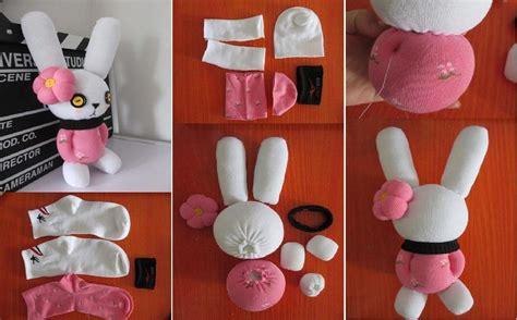 diy adorable sock diy adorable sock bunny icreativeideas