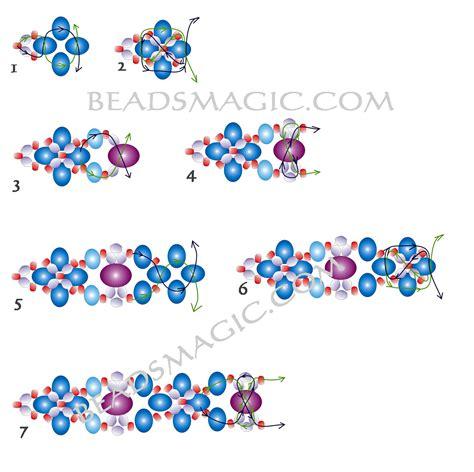 free beaded bracelet patterns free pattern for beautiful beaded bracelet palermo