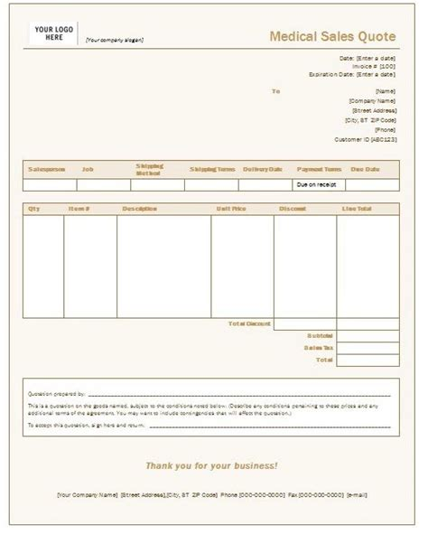 Free Quotation Templates For Word Google Docs Templates Vip Quote Template Word