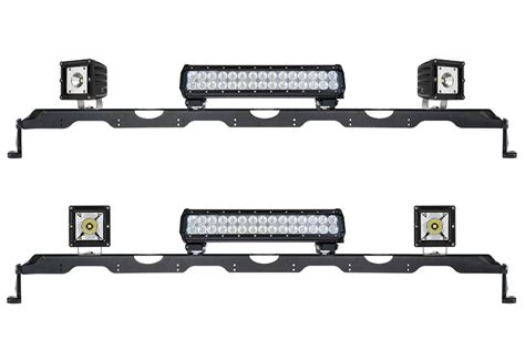 led light bar brackets universal multi light adapter bar for 50 quot led