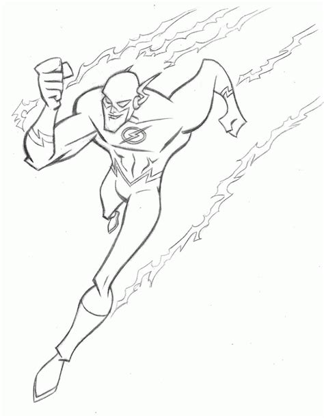 the flash colors the flash coloring page coloring home