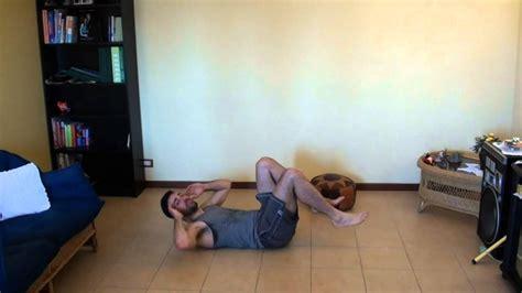 palestra in casa esercizi esercizi per pettorali ed addominali allenamento