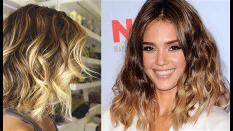 wavy bob hairstyles youtube trendy ombre wavy bob cut for medium length hair 1 youtube