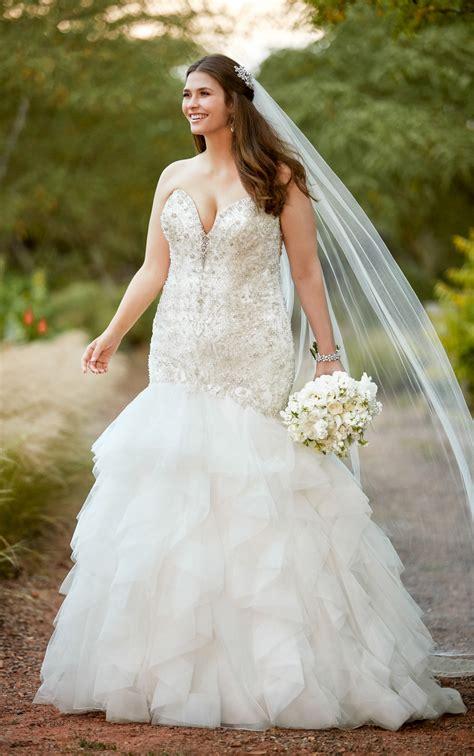wedding dresses beaded  size wedding dress