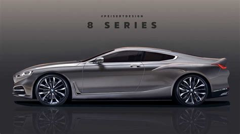 see the bmw 8 series take shape in teaser based render